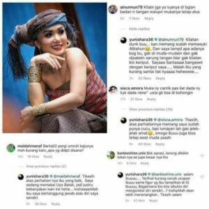 Balasan Bijak Yuni Shara Tanggapi Netizen Jadi Trending Topic Di Twitter