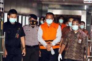 Edhy Prabowo Jalani Sidang Pembacaan Dakwaan Kasus Suap Ekspor Benur Hari Ini