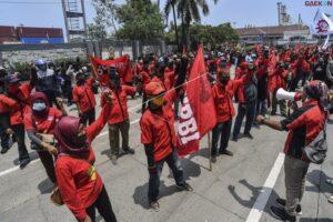 Tuntut THR Hingga UMSK, Hari Ini Buruh Akan Demo Besar-Besaran