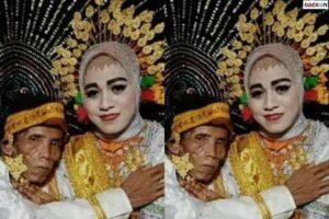 Heboh Gadis 19 Tahun Di Bone Menikah Dengan Seorang Kakek 58 Tahun