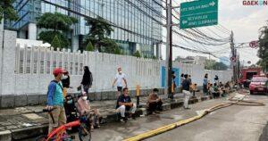 Basement Apartemen Taman Sari Setia Budi Terbakar, 66 Orang Berhasil Dievakuasi