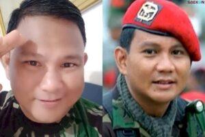 Kreator TikTok Mirip Prabowo Subianto