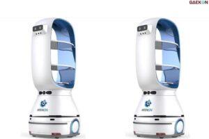 Kekurangan Staf Ditengah Pandemi, Restoran Ini Manfaatkan Robot Pekerja Seharga Rp 145 Juta