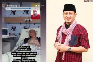 Ada Indikasi Pneumonia Dan Kekentalan Darah, Kondisi Ustaz Zacky Mirza Berangsur Membaik