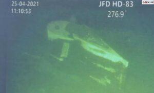Bangkai Kapal Selam KRI Nanggala 402 Ditemukan Di Dekat Kawah Misterius