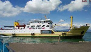Hendak Berobat, Penumpang Kapal Perintis KM Sabuk Nusantara 59 Jatuh Di Laut Gorontalo