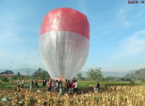 Terbangkan Balon Udara, 17 Warga Madiun Diamankan Polisi