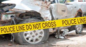 Jenazah Terlempar Ke Jalan, Mobil Ambulans Di Jakarta Ini Tertabrak Mobil Boks