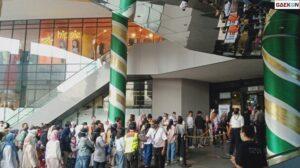 Sejumlah Mal Di Bandung Penuh Pengunjung Ditengah Larangan Mudik