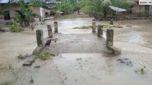 Banjir Sumbar, 800 Unit Rumah Terendam Lumpur