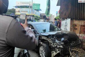 Tabrakan Beruntun Di Bekasi, 3 Orang Jadi Korban
