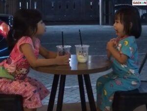 Topik Pembicaraan Dua Bocil Nongkrong Di Kafe Ini Bikin Gemas