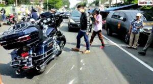 5 Terluka, Harley Davidson Tabrak 3 Motor Dan Mobil Di Puncak