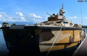 """Bisa Bawa 60 Personel, Alutsista Terbaru """"Tank Boat"""" Mulai Diujicoba Di Banyuwangi"""