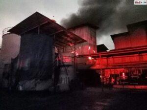 Pabrik Minyak Goreng Ikan Dorang Surabaya Terbakar, PMK Kerahkan 20 Unit Mobil