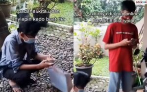 Terlanjur Nunggu Lama, Segerombol Cowok Ini Mau Kasih Surprise Malah Salah Alamat