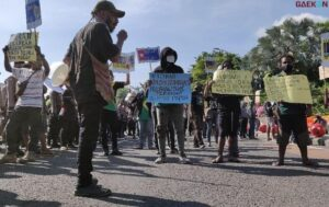 Hari Ini Warga Papua Gelar Demonstrasi Di Tiga Kota