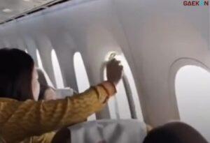Jendela Pesawat Lepas Saat Terbang, Sejumlah Penumpang Nangis Ketakutan