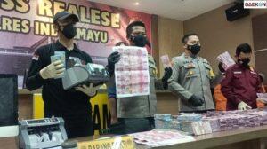 Uang Palsu Senilai Rp 11,5 Miliar Disita, 4 Pelaku Diamankan Polisi