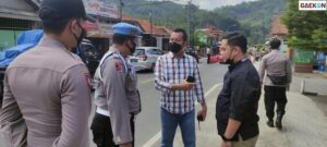 Polisi Amankan Pemudik Gunakan Pelat Nomor Perwira Tinggi Polri Palsu Di Majalengka