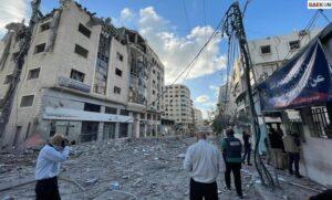 Serangan Udara Israel Hancurkan Satu-Satunya Laboratorium Tes Covid-19 Di Gaza Palestina