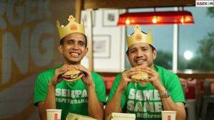 Serupa Tapi Tak Sama, Burger King Indonesia Kenalkan 'Plant Based Whooper' Burger Berbahan Nabati