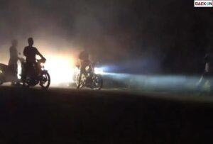 Balap Liar Di Bendungan Blitar, Polisi Berhasil Amankan 90 Kendaraan
