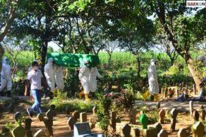 Tim Pemakaman Pasien Covid-19 Di Kudus Kewalahan, BPBD Kudus: Butuh Waktu 1 Jam Untuk 1 Jenazah