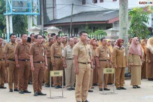 Aturan Baru ASN, Wajib Apel Pagi, Menyanyikan Lagu Indonesia Raya Dan Membaca Text Pancasila