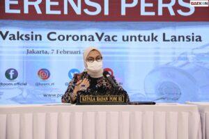 BPOM Tegaskan Tak Lagi Urus Uji Klinis Hingga Izin Edar Vaksin Nusantara