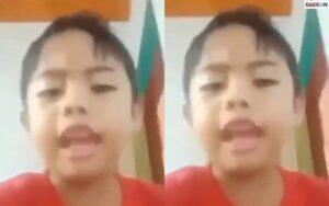 Bosan Sekolah Online, Viral Bocah SD Nyanyi Lagu Fiersa Besari Dengan Ganti Liriknya