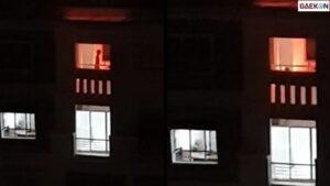 Muncul Api, Dikira Kebakaran Ternyata Dukun Muda Sedang Ritual