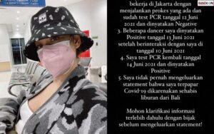 BCL Positif Covid-19, Jerinx: Rakyat Bali Sudah Terlalu Melarat Untuk Drama Kopid Ala Seleb Ibukota