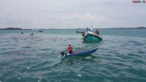 Kapal Bocor, 4 Nelayan Ini Terombang Ambing Di Tengah Perairan Belawan Batam Selama 11 Jam