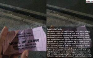 Heboh Parkir Mobil Rp 20 Ribu Di Nol Kilometer Yogyakarta, Warganet: Jogja Yang Murah Cuma UMR