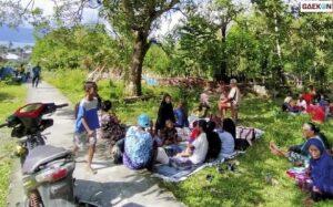 Tanah Amblas Akibat Gempa Maluku, Begini Cerita Kepanikan Warga Sekitar