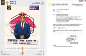 "BEM UI Enggan Hapus Postingan ""Jokowi: The King Of Lip Service"" Meski Telah Dipanggil Rektorat"