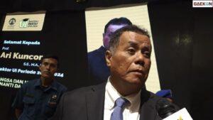 Rektor UI Ari Kuncoro Rangkap Jabatan Jadi Wakil Komisaris BRI, Ombudsman: Jelas Itu Melanggar
