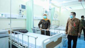 Sempat Overload, Ruang Isolasi RSUD Dr Soetomo Kini Mulai Melandai
