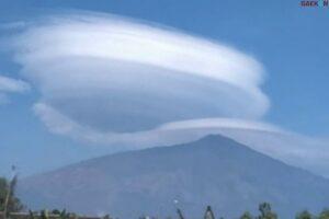 Warga Aceh Heboh Fenomena Langit Mirip UFO