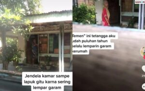 Viral Curhatan Wanita Tentang Tetangganya Yang Sering Lempar Garam