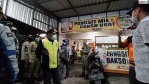 Langgar Aturan PPKM Darurat, 94 Pelaku Usaha Di Kota Malang Ditindak