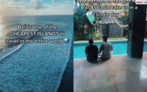 Hanya Modal USD 5, Bule Ini Sebut Bali Salah Satu Pulau Termurah Di Dunia