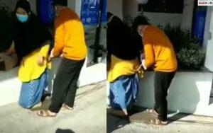 Tak Ada Yang Menolong, Viral Wanita Melahirkan Di Dekat ATM Yogyakarta Sambil Berdiri