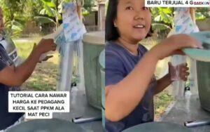 Sepi Pembeli, Dagangan Es Tebu Ibu Ini Dibeli Rp 500 Ribu Seporsi