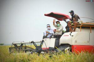 Pakai Alsintan, Produktivitas Pertanian Di Bali Meningkat