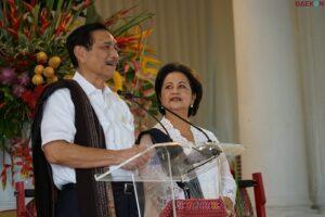 Luhut Tak Boleh Lagi Jadi Menteri Di 2024, Istri Luhut: Selesai Ini Jangan Lagi Jadi Menteri-Menteri Ya