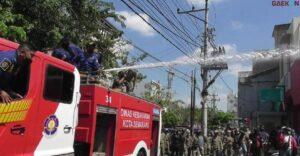 Langgar PPKM Darurat, Satgas Covid-19 Kota Semarang Semprot Air Warga Yang Bandel