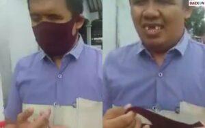 Turunkan Masker Di Dagu, Imam Masjid Tunanetra Ini Kena Denda Rp 50 Ribu