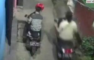 Viral 2 Pemuda Curi Motor Anggota TNI AL Di Kawasan Pasar Minggu